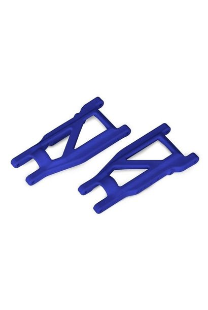 Suspension arms, blue, front/rear (left & right) (2) (heavy duty, cold weather m, TRX3655P