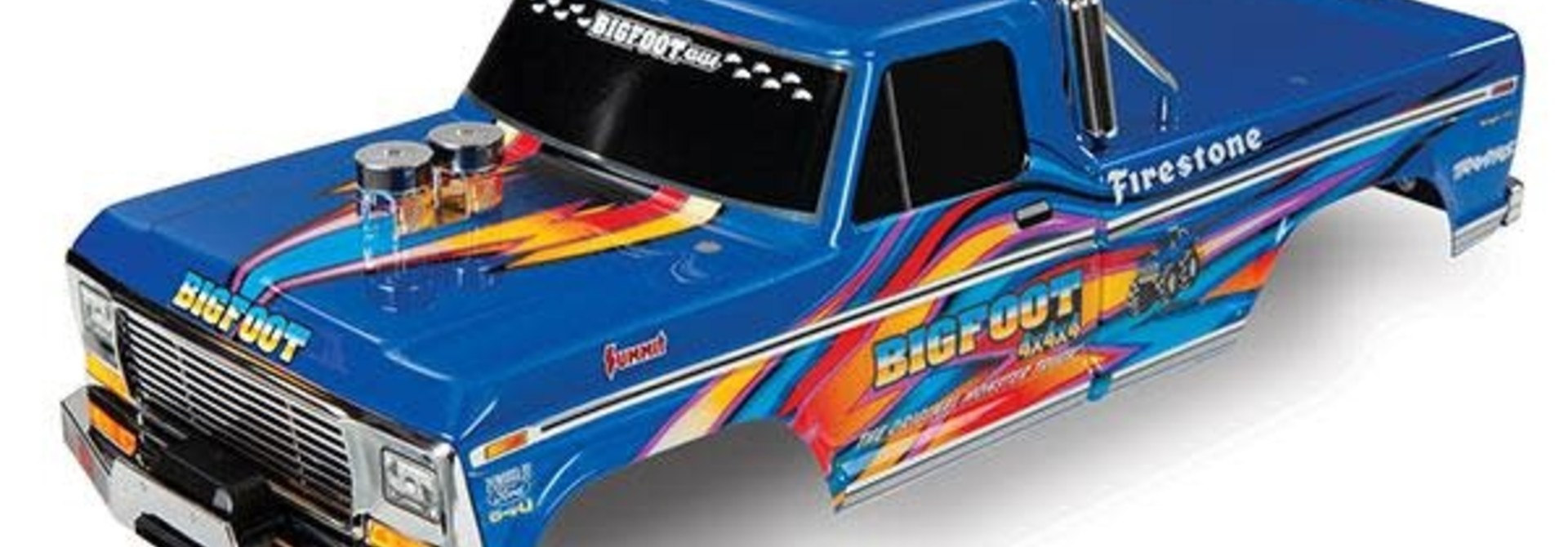 BODY, BIGFOOT® NO. 1 BLUE-X PAINTED