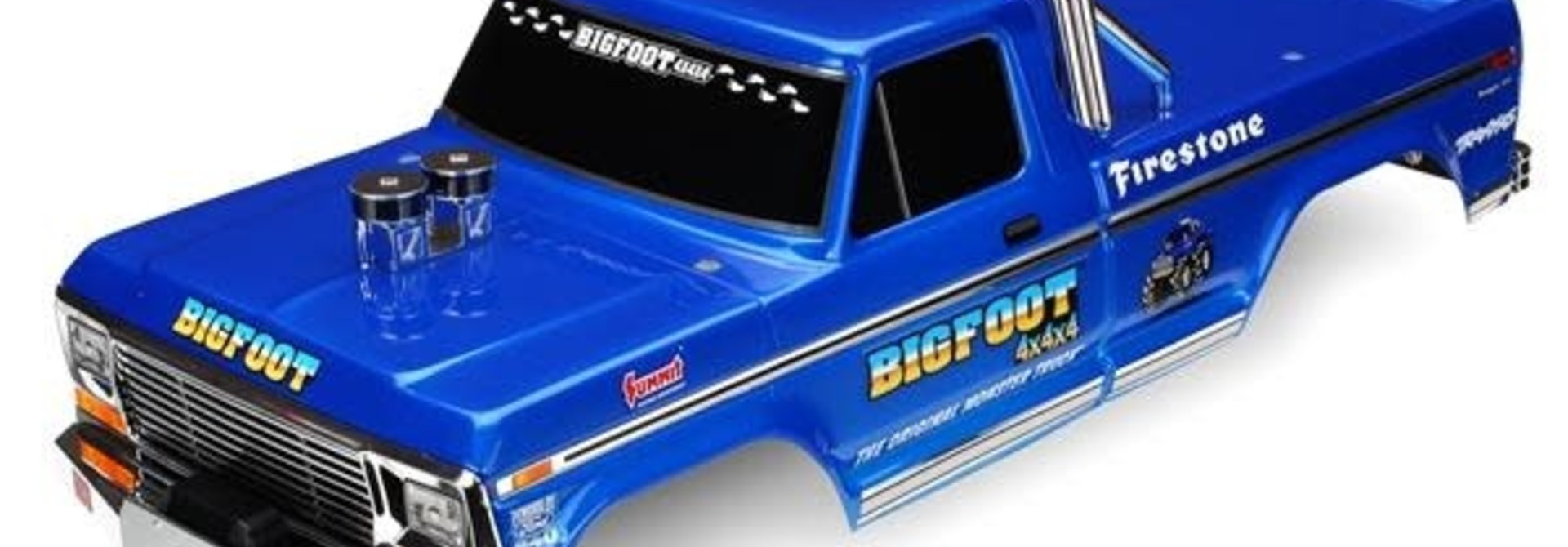 Body, Bigfoot® No. 1, Officially Licensereplica (painted, decals applied), TRX3661