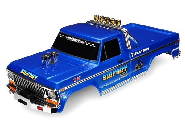 Body, Bigfoot® No. 1, Officially Licensereplica (painted, decals applied), TRX3661-1