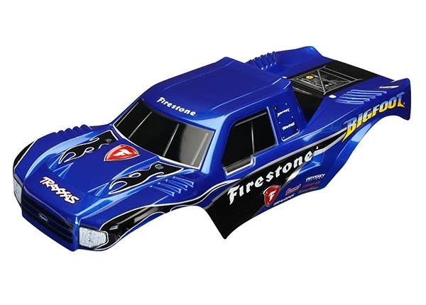 Body, Bigfoot Firestone, Offi cially Licensed replica painte, TRX3658-2
