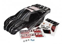 Body, Rustler VXL, ProGraphix (replacecement for the painted body. Graphics are, TRX3719-1
