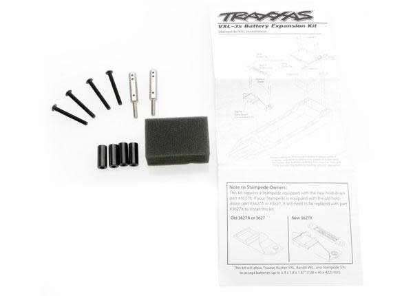 Battery expansion kit (allows for installation of taller mul, TRX3725X-2