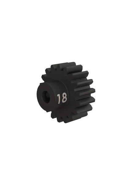 Gear, 18-T pinion (32-p), heavy duty (machined, hardened ste, #TRX3948X