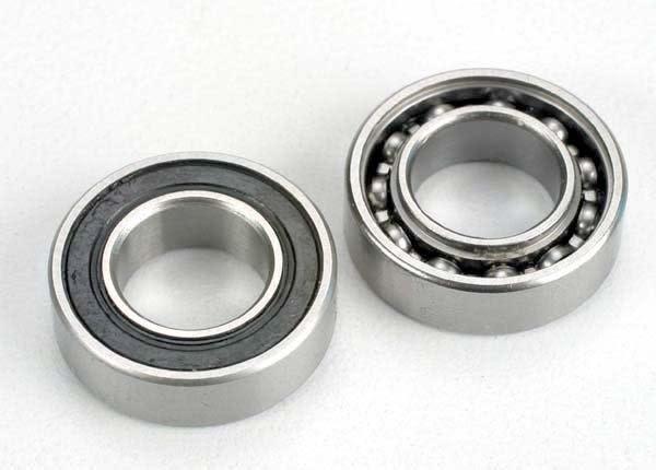 Ball Bearings, crankshaft, 9x17x5mm (front & rear) (2), TRX4023-2