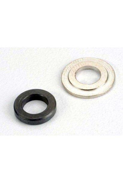 Bearing spacers, clutch bell 5x8.5x1.75mm (1)/ 5x11x1.1mm (1