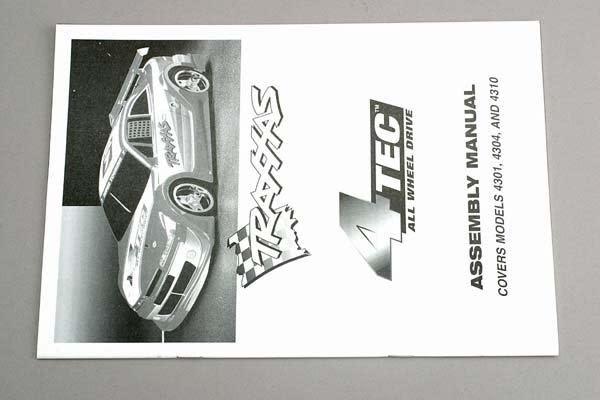 Assembly manual, 4-Tec, TRX4399-2