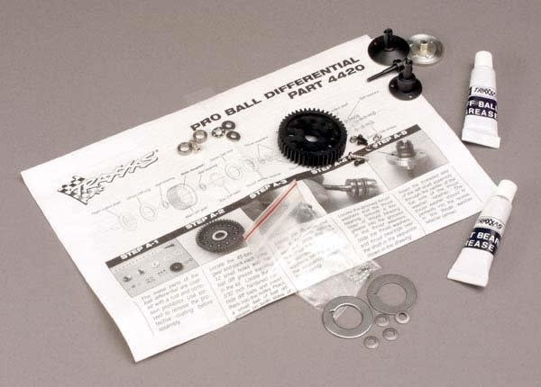 Ball differential, Pro-style (with bearings), TRX4420-2
