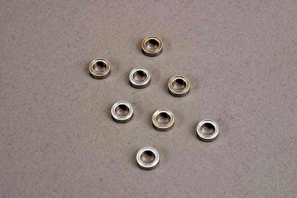 Ball bearings (5x8x2.5mm) (8) (for wheels only), TRX4606-2