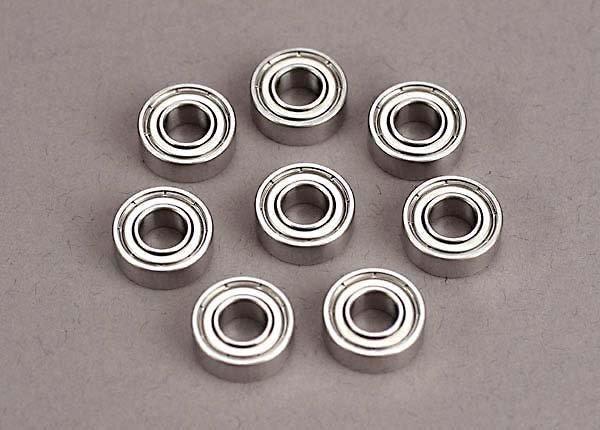 Ball bearings (5x11x4mm) (8), TRX4607-2