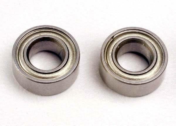 Ball bearings (5x10x4mm) (2), TRX4609-2