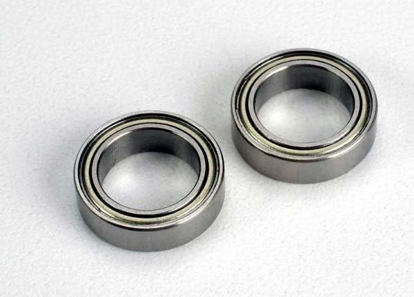 Ball bearings (10x15x4mm) (2), TRX4612-2