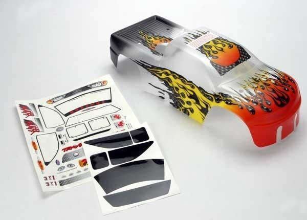 Body, T-Maxx, ProGraphix (replacement for the painted flames, TRX4911X-2