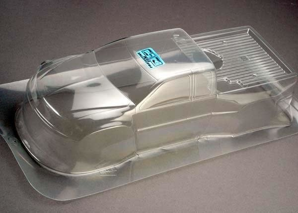 Body, T-Maxx (Clear, requires painting), TRX4911-2
