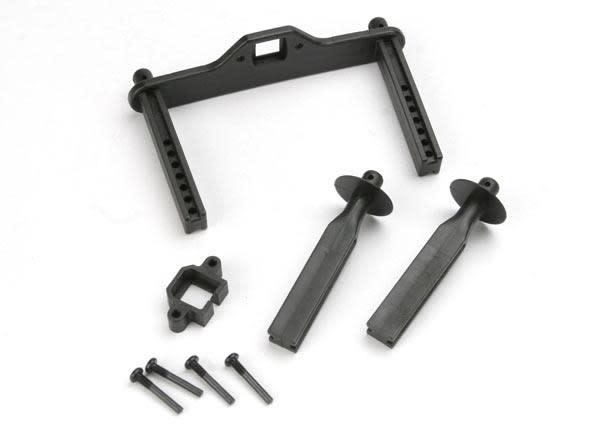 Body mount posts, front (2)/ body mount, rear/ body mount sc, TRX4914R-2