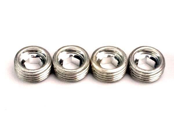 Aluminum caps, pivot ball (4), TRX4934-2