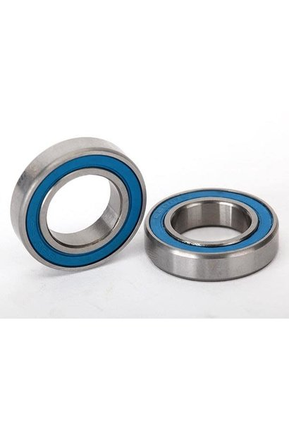 Ball bearings, blue rubber sealed (12x21x5mm) (2)