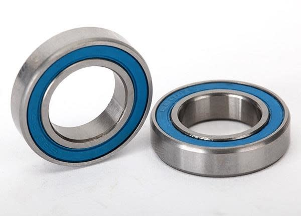 Ball bearings, blue rubber sealed (12x21x5mm) (2)-1