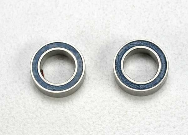Ball bearings, blue rubber sealed (5x8x2.5mm) (2), TRX5114-2