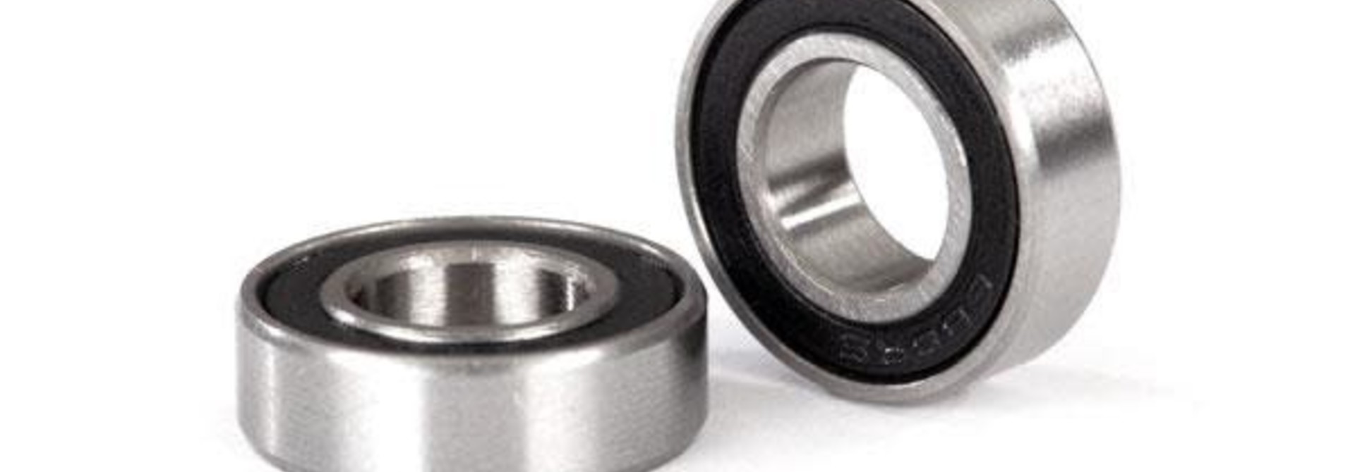 Ball bearings, black rubber sealed (8x16x5mm) (2)