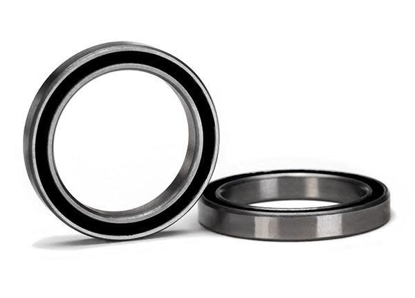 Ball bearing, black rubber sealed (20x27x4mm) (2), TRX5182A-2