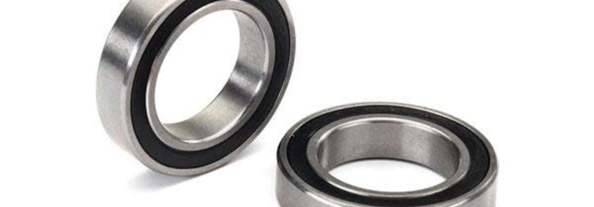 Ball bearing, black rubber sealed (20x32x7mm) (2)