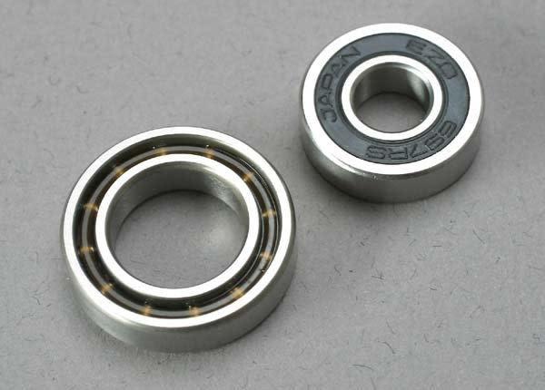 Ball bearings (7x17x5mm) (1)/ 12x21x5mm (1) (TRX 3.3, 2.5R,, TRX5223-2