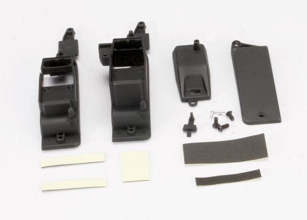 Box, receiver & battery (2)/ cover/ foam pad & adhesive/ cha, TRX5324X-2