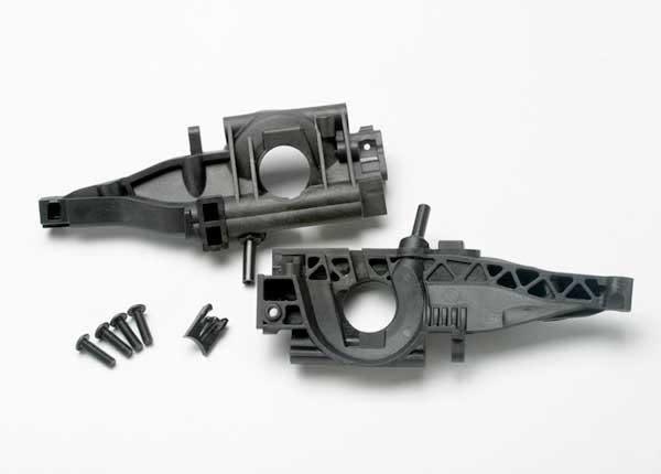 Bulkhead, rear (L&R halves)/ diff retainer, rear/ 4x14mm BCS, TRX5329-2