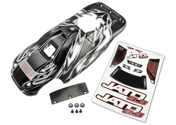 Body, Jato 3.3, ProGraphix (replacement for the painted body, TRX5511R-2