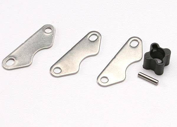 Brake disc hub (for Revo rear brake kit)/ 2mm pin (1)/ brake, TRX5565X-2