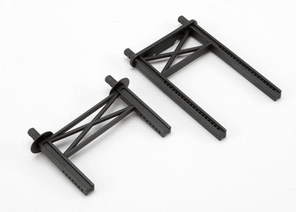 Body mount posts, front & rear (tall, for Summit), TRX5616-2