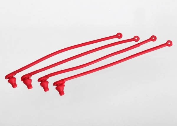 Body clip retainer, red (4), TRX5752-2