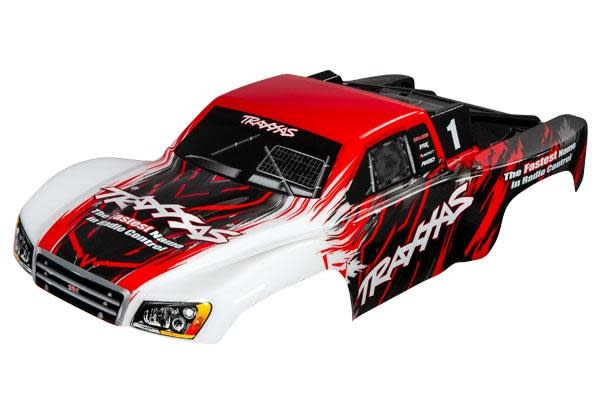 Body, Slash 4X4, red (painted, decals applied)-1