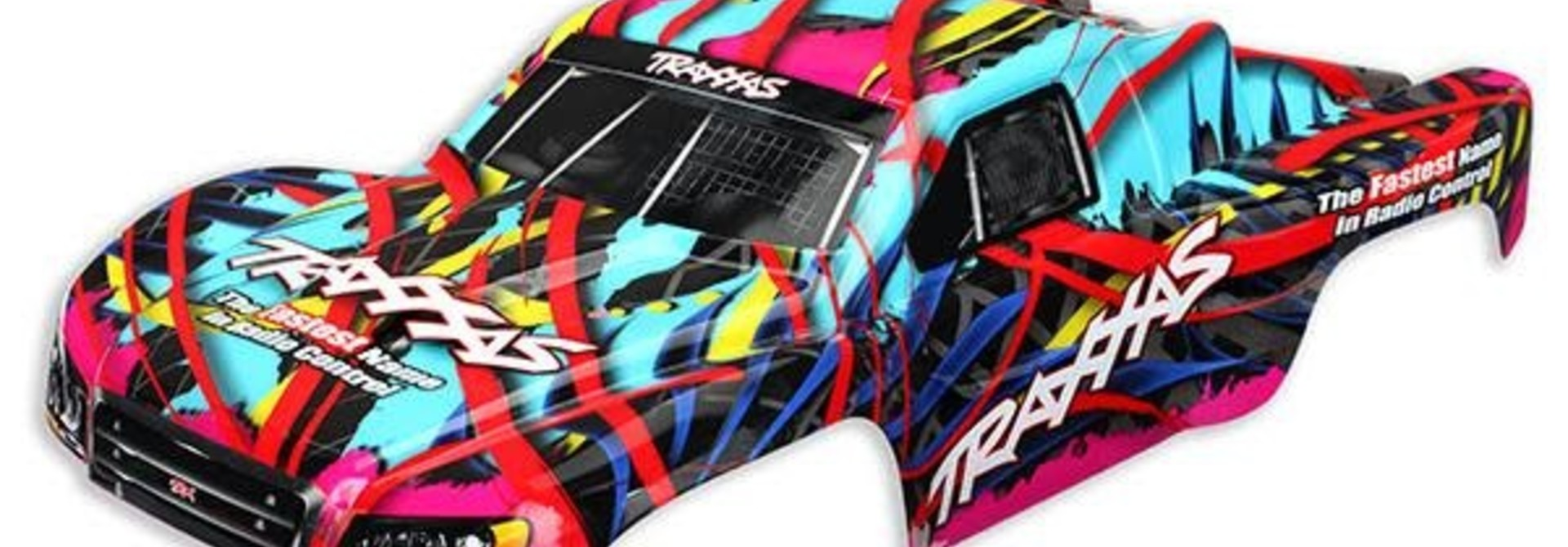 Body, Slash 4X4, Hawaiian graphics (painted, decals applied), #TRX5849