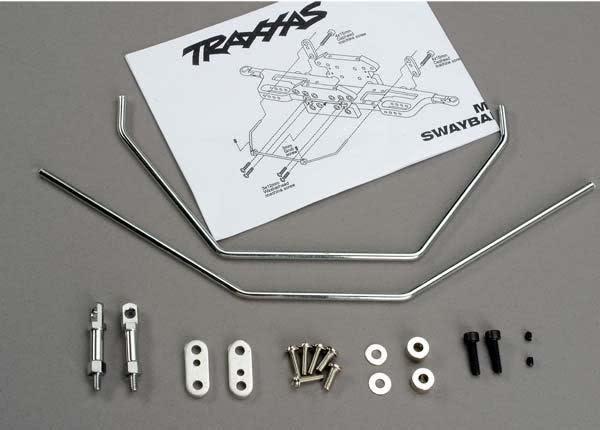 Anti-sway bars (front & rear) w/ hardware, TRX6078-2