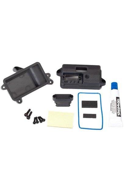 Box, receiver (sealed)/ foam pad/ 2.5x8m
