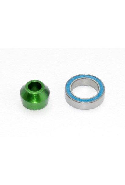 Bearing Adapter, 6160-T6 Aluminum Green