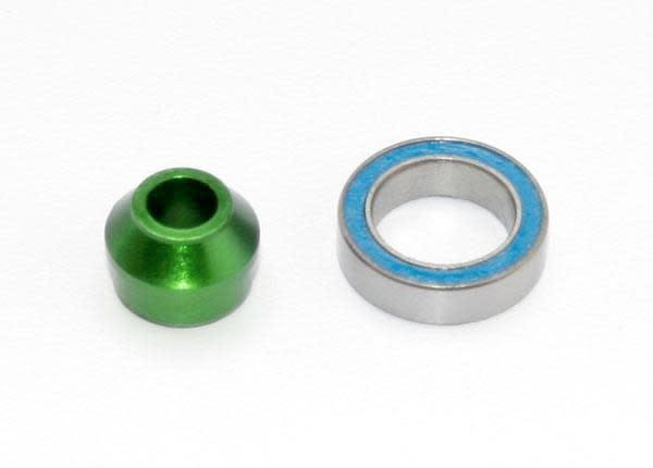 Bearing Adapter, 6160-T6 Aluminum Green-1