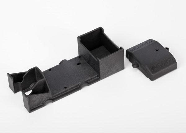 Box, receiver/ cover, TRX6924-2