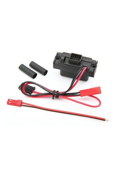 LED lights, power supply (regulated, 3V, 0.5-amp)