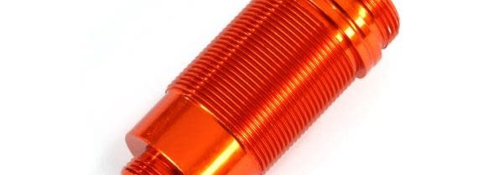 Body, GTR long shock, aluminum (orange-anodized) (PTFE-coated bodies) (1)