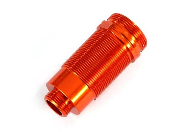 Body, GTR long shock, aluminum (orange-anodized) (PTFE-coated bodies) (1)-1