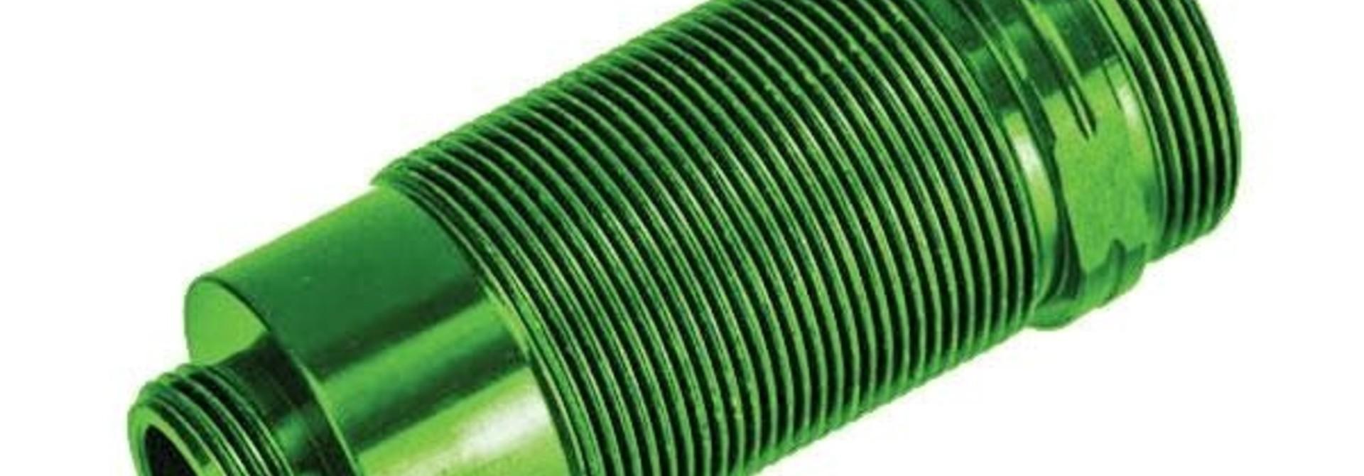 Body, GTR long shock, aluminum (green-a nodized) (PTFE-coated bodies) (1)