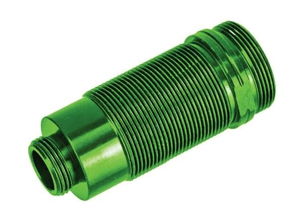 Body, GTR long shock, aluminum (green-a nodized) (PTFE-coated bodies) (1)-1