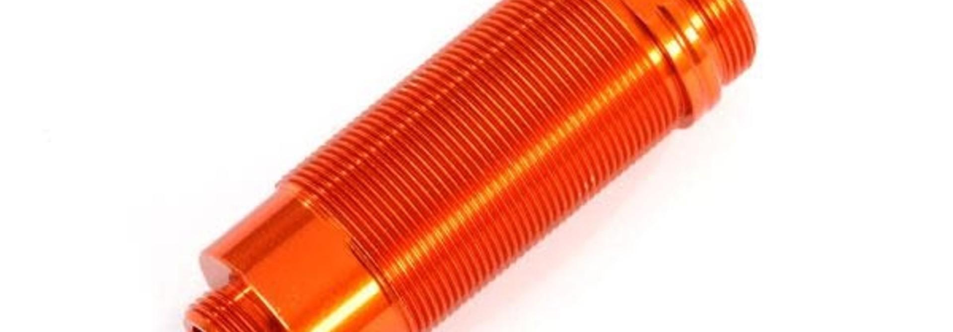 Body, GTR xx-long shock, aluminum (orange-anodized) (PTFE-coated bodies) (1)