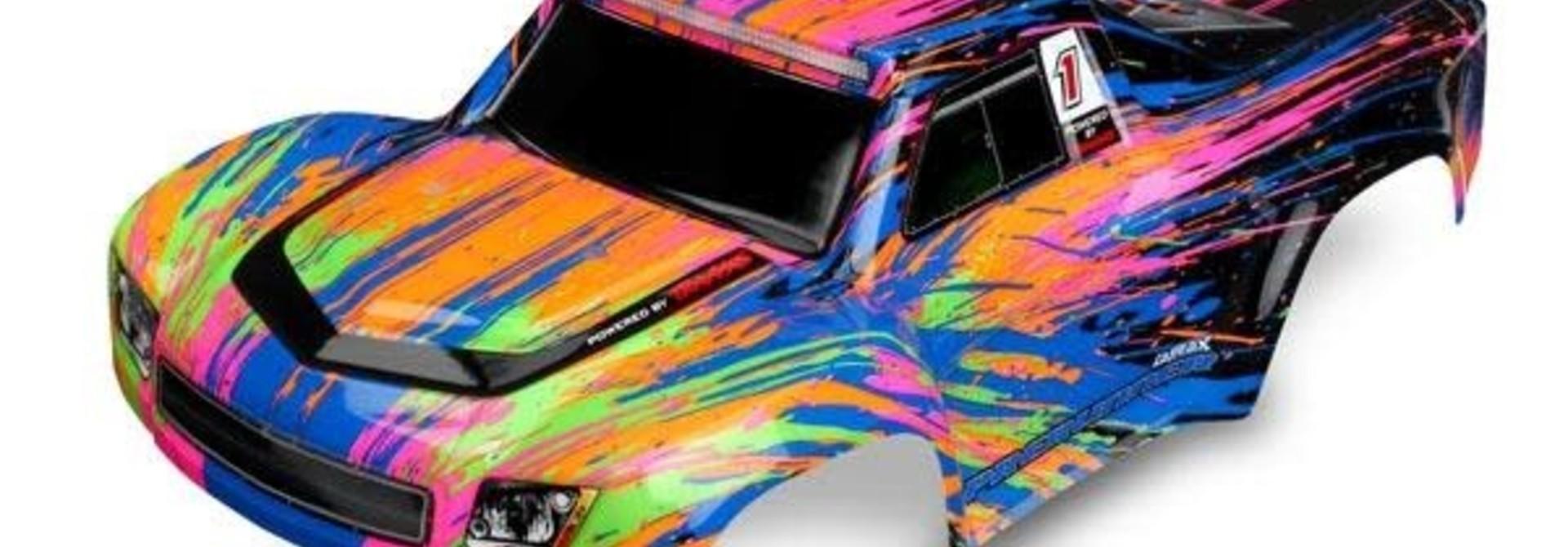 Body, LaTrax Desert PreRunner, color burst (painted)/ decals