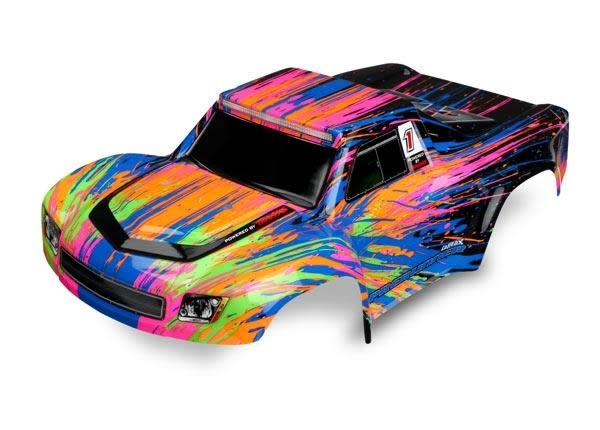 Body, LaTrax Desert PreRunner, color burst (painted)/ decals-1