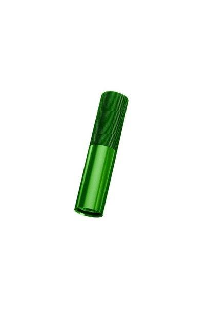 Body, GTX shock (aluminum, green-anodized) (1), TRX7765G