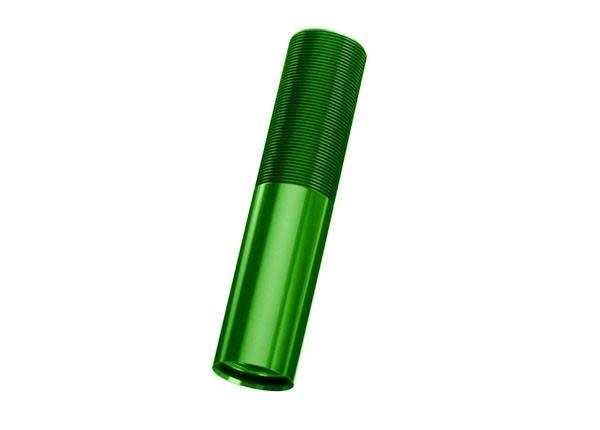 Body, GTX shock (aluminum, green-anodized) (1), TRX7765G-1